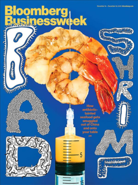Massive Smear Article in Businessweek Aims to Push Shrimp Imports Under USDA Inspection